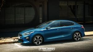 Kia Ceed Fastback by X-Tomi Design 2018 года